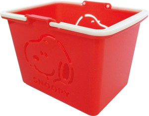 Color Basket Snoopy Red SNOOPY