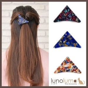 Marble Color Triangle Clip