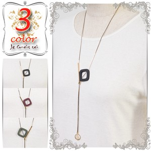 S/S Fashion Accessory Geometric Design Motif Accessory Necklace Pendant