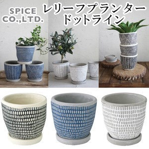 2018 S/S Leaf Planter Dot Line