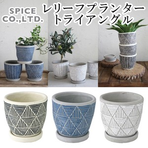 2018 S/S Leaf Planter Triangle