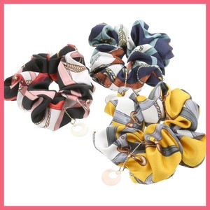 Charm Attached Scarf Scrunchy