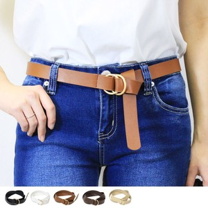 Ring Belt Knot Belt Fancy Goods Adjust Buckle Belt Long Belt