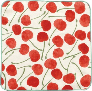 Towel Handkerchief Cherry Red