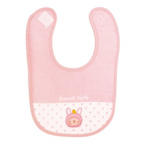 Baby Costume Applique Bib Pink