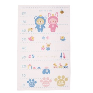Baby Costume Height Meter Towel Blue