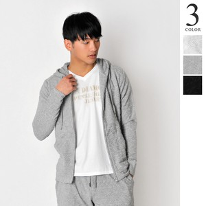 Spring Items Jacquard Pile Native Hoody Men's Same Color Suit Set
