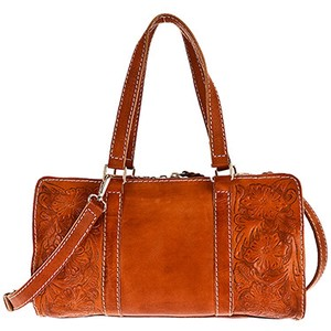 Leather Genuine Leather Overnight Bag