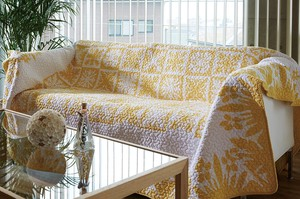 S/S Quilt Multi Cover Flower Hawaiian Botanical Sofa
