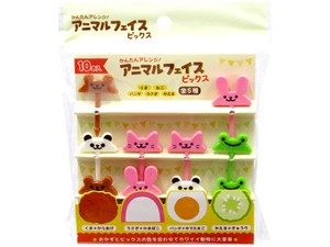 Animal Face Pick 10 Pcs