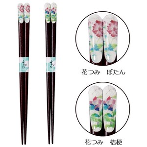 Wakasa Paint Chopstick 1Pc 2 type Peony Bellflower