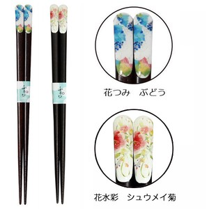 Wakasa Paint Chopstick 1Pc 2 type Grape Interior Plants