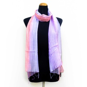 2018 S/S Stole Rayon Silk Material S/S Stole Purple