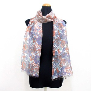 2018 S/S Stole Rayon Silk Material Brilliant S/S Stole Floral Pattern Gray