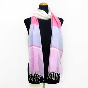 2018 S/S Stole Material S/S Stole Border Pink