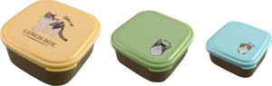 SEAL Lunch Set cat Color Cat Lunch Box