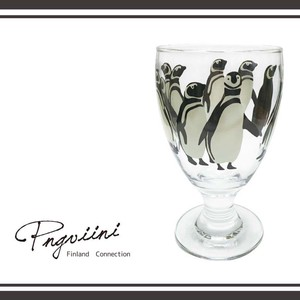 Penguin Glass Plates & Utensil