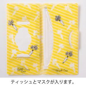 【7月初旬入荷予定】【マスクケース】 ウサギ マスク&ティッシュケース