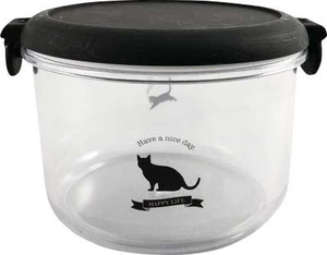 Acrylic Round Case cat