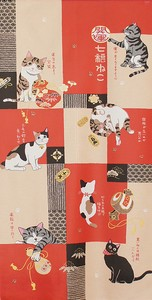 Japanese Noren Curtain Pasting Long