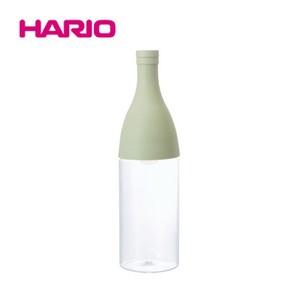 『HARIO』フィルターインボトル・エーヌ スモーキーグリーン FIE-80-SG HARIO(ハリオ)