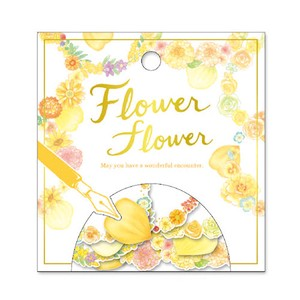 Flower FLOWER SEAL Light Yellow