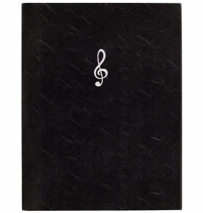 Triple Score Sheet Holder Music Series