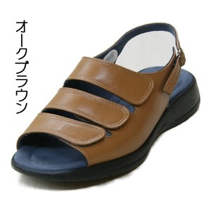 Objects and Ornaments Ornament Black Attached Comfort Sandal soft Genuine Leather