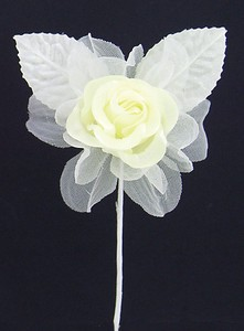 Rose Pick Artificial Flower