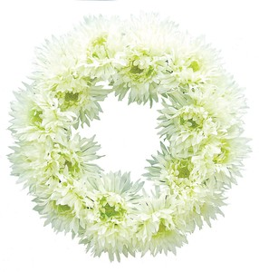 Spider Gerbera Wreath Artificial Flower