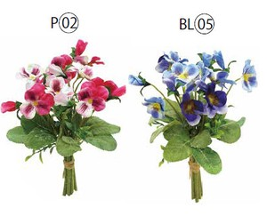 Pansy Band Artificial Flower