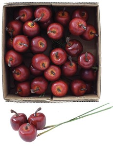 50mm Apple Artificial Flower Fruit