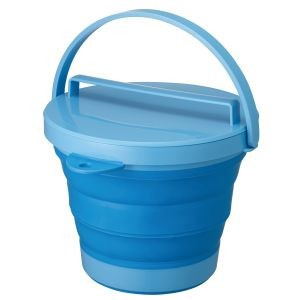 soft Bucket Attached Blue