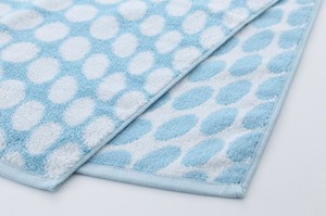 Bubble Bathing Towel Blue