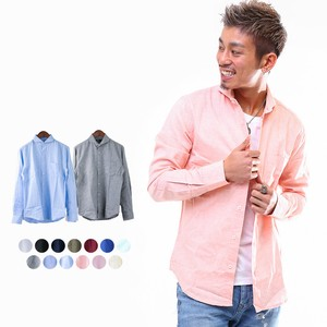 S/S Men's Color Long Sleeve Shirt
