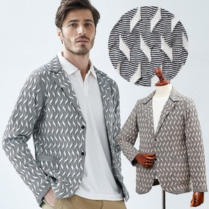 Geometric Summer Knitted Jacket
