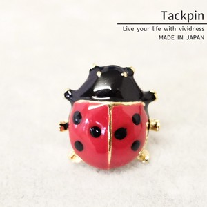 pin Brooch Tuck pin Ladybugs