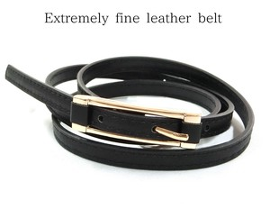 Ultra-Fine Synthetic Leather Belt