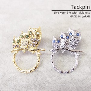 pin Brooch Tuck pin Owl