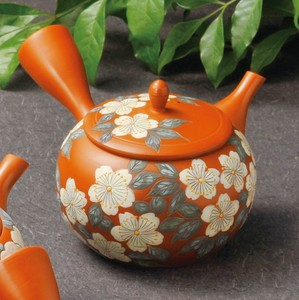 TOKONAME ware Sakura Japanese Tea Pot