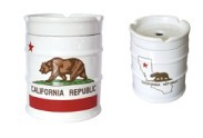 CALIFORNIA REPUBLIC NEWドラム缶 灰皿