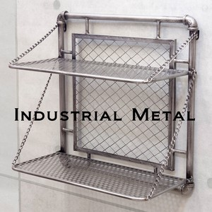 Industrial Metal Wall Shelf