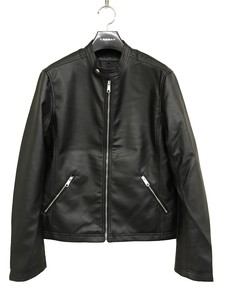 2018 A/W Single Motorcycle Leather Jacket