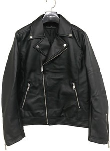 2018 A/W Double Motorcycle Leather Jacket