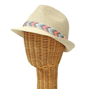 Ethnic Ribbon Felt Hat Hat S/S Countermeasure