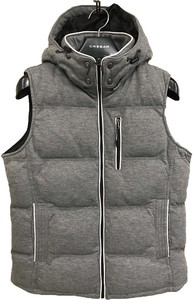 2018 A/W ponte fabric Food Padding Vest