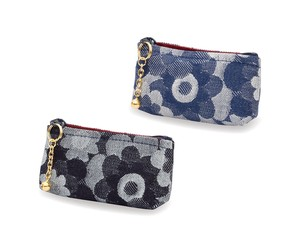 Okayama Denim Margaret Coin Purse Blue Navy