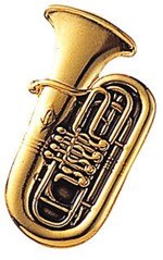 Standard Brooch Wind Instrument