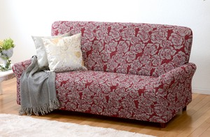 Italy Washable Fit Sofa Cover Red