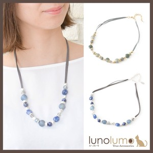 Mat Color Elegant Short Necklace